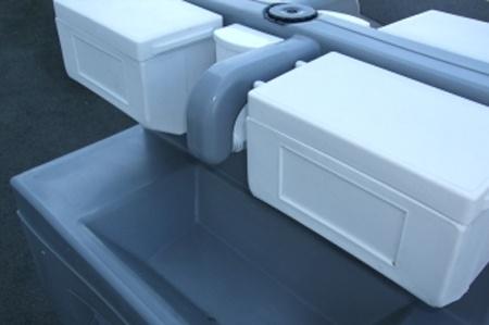 Mobiles Handwaschbecken