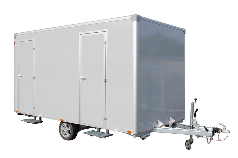 Toilettenwagen 2+1