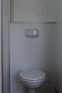 Toilettenwagen 4+1, Detail Toilette