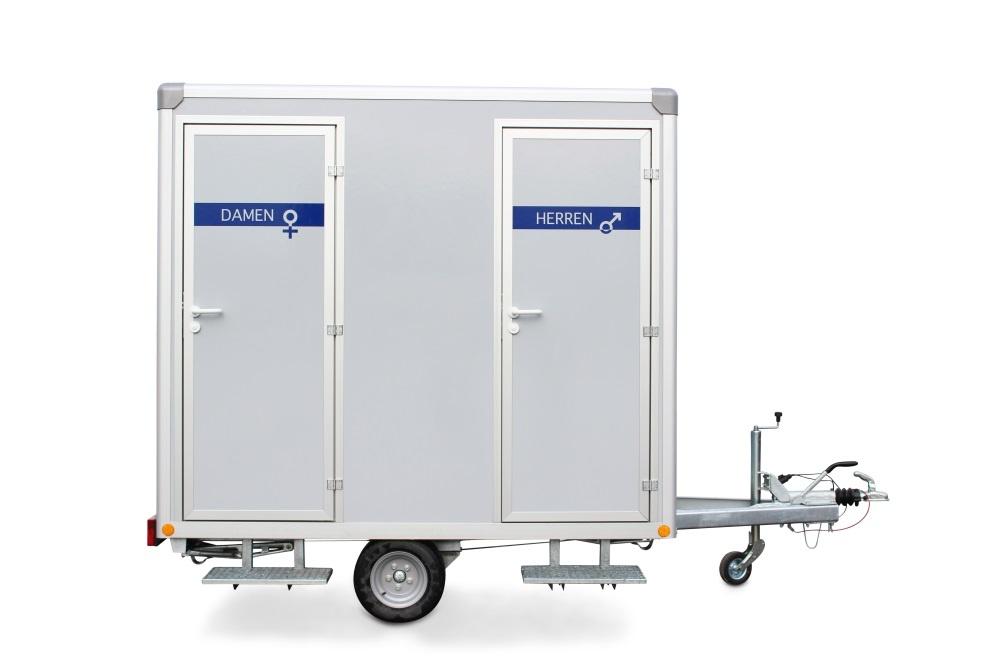 Toilettenwagen 1 Damen & 1 Herren
